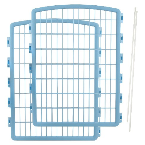 "IRIS Expansion Kit for Indoor/Outdoor Plastic Dog Pen - 34"" - image 1 of 3"