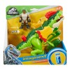 Fisher-Price Imaginext Jurassic World Dilophosaurus & Agent Set - image 6 of 6