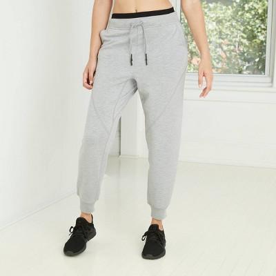 Women's Mid-Rise Cozy Jogger Pants with Drawstring - JoyLab™