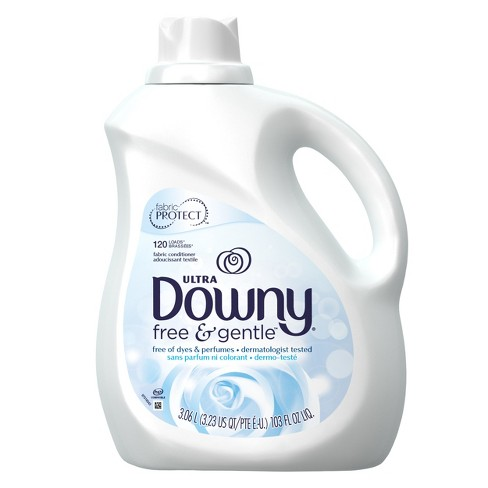Downy Free & Gentle Liquid Fabric Conditioner - 103 fl oz - image 1 of 2