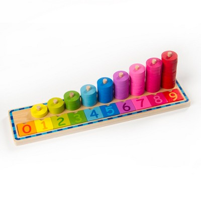 Fat Brain Toys Count and Sort Stacking Tower FB172-1