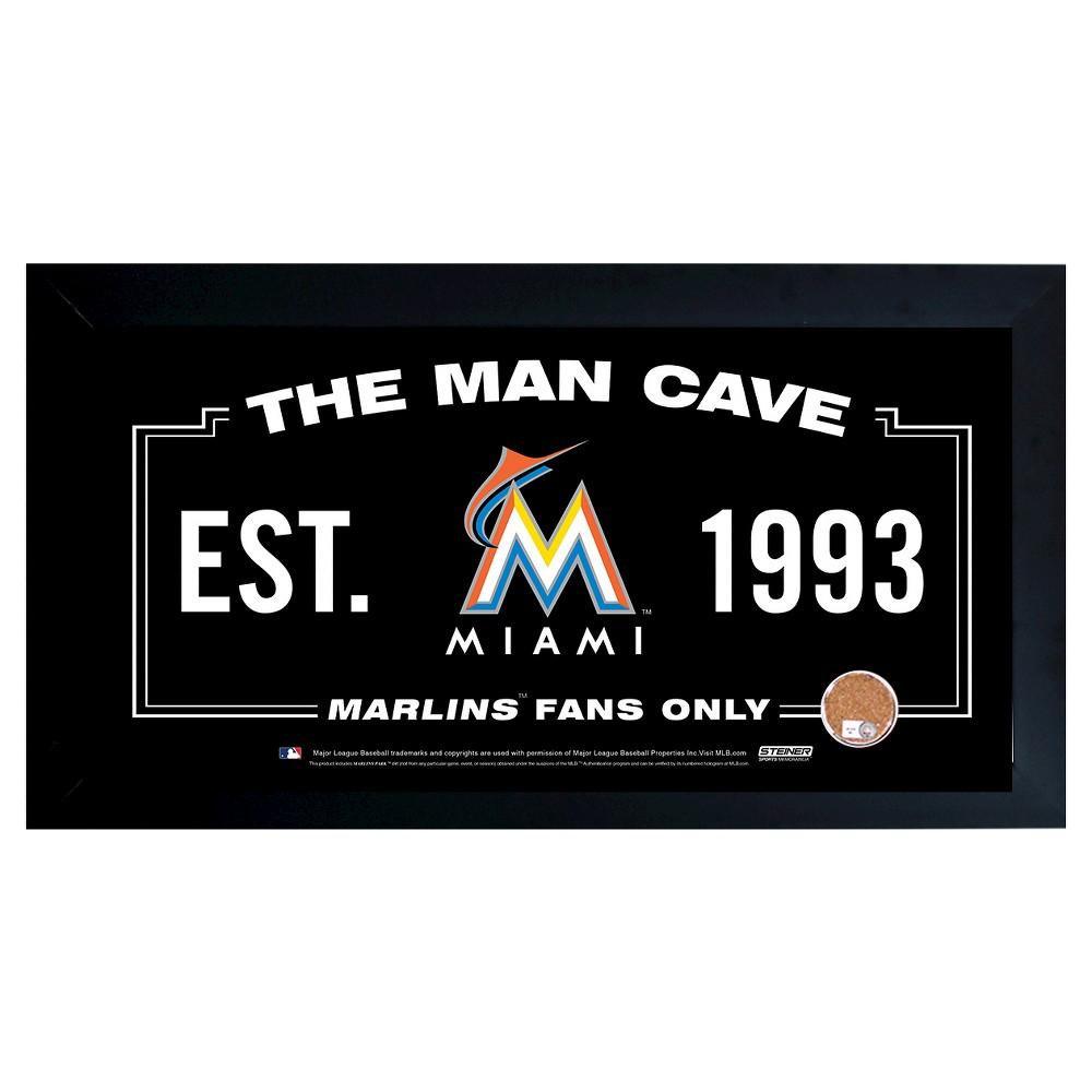 Miami Marlins Steiner Sports Man Cave Sign - 20