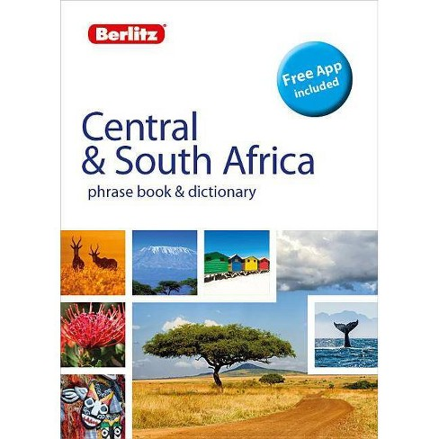 Berlitz Phrase Book & Dictionary Central & South Africa(bilingual Dictionary) - (Berlitz Phrasebooks) - image 1 of 1
