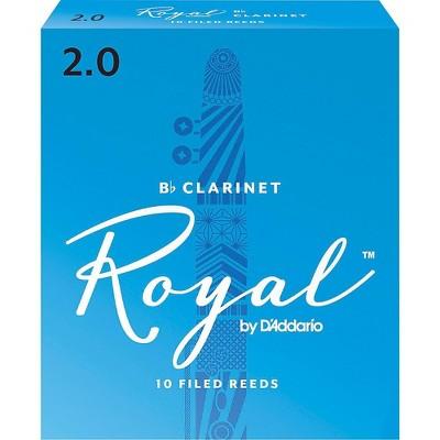 Rico Royal Bb Clarinet Reeds, Box of 10
