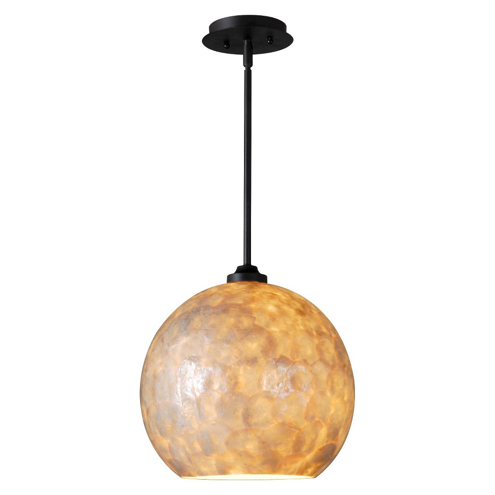 Image of Kenroy Aden 1 Light Pendant, Multi-Colored