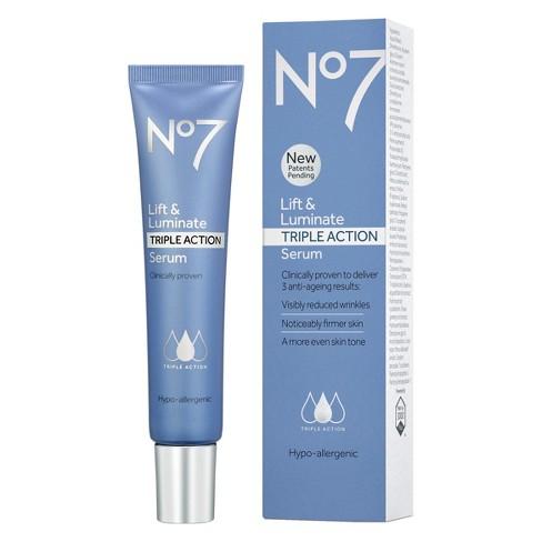 No7 Lift & Luminate Triple Action Serum - 1oz