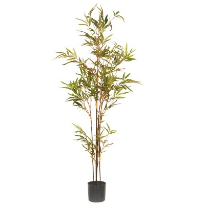 4' Artificial Potted Japanese Bamboo Tree - National Tree Company