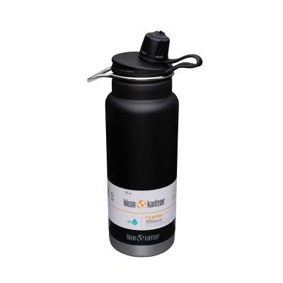 Klean Kanteen 32oz TKWide Stainless Steel Water Bottle with Chug Cap - Black