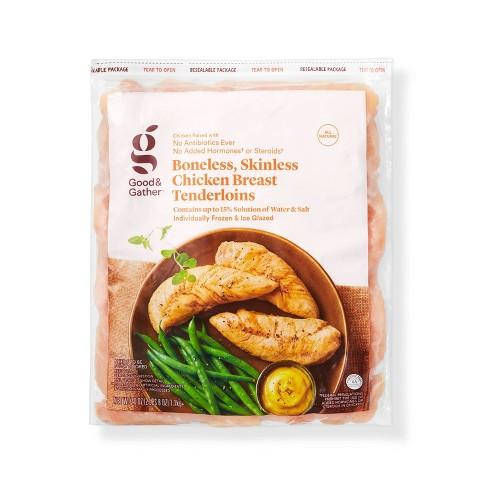 Boneless & Skinless Chicken Breast Tenderloins - Frozen - 2.5lbs - Good & Gather™ - image 1 of 2