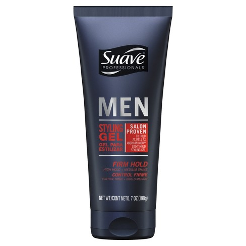 Suave Men Firm Hold Styling Gel - 7oz - image 1 of 2