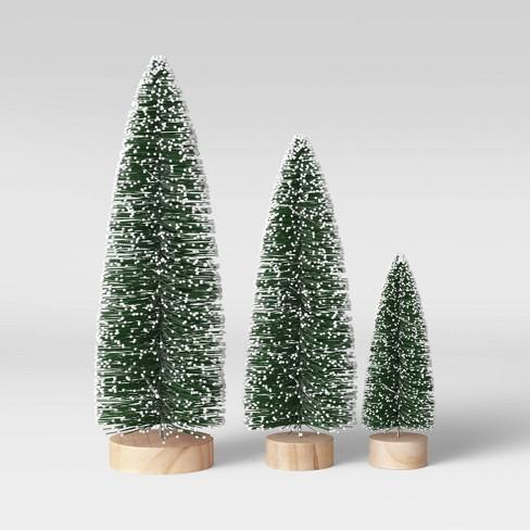 Set of 3 Lit Christmas Trees Novelty - Threshold™ - image 1 of 3