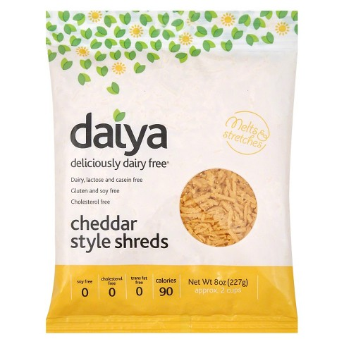 Daiya Cheddar Cheese - Style Shreds Dairy Free - 8oz - image 1 of 1