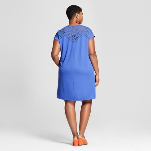 3ac21f63e04 Women s Plus Size T-Shirt Dress - Ava   Viv™   Target