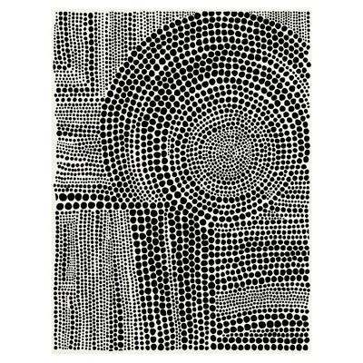 30 x40  Clustered Dots B By Natasha Marie Art On Canvas - Fine Art Canvas