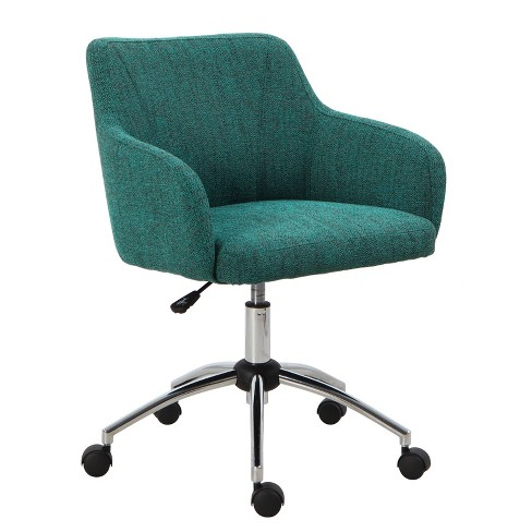 Mid Back Swivel Office Chair Textured