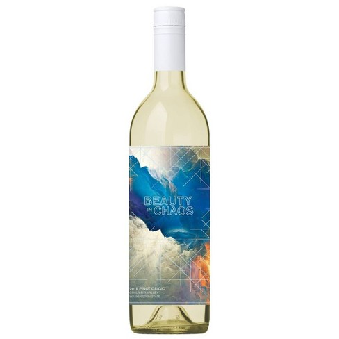 Beauty in Chaos Pinot Grigio White Wine - 750ml Bottle - image 1 of 3