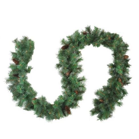 "Northlight 9' x 12"" Royal Oregon Fir Artificial Christmas Garland - Unlit - image 1 of 3"