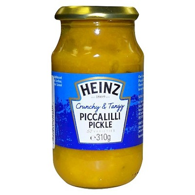 Heinz Crunchy & Tangy Piccalilli Pickle 10.9oz