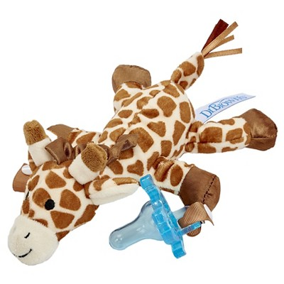 Dr. Browns Gerry the Giraffe Lovey Pacifier & Teether Holder