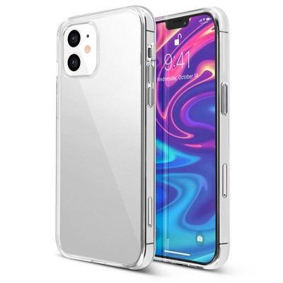 Insten Crystal Clear Case Compatible with Apple iPhone , Soft TPU Ultra Slim Fit Shockproof Protective Rubber Cover