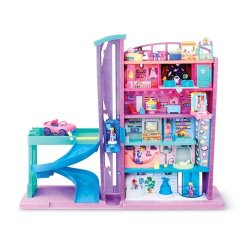 Polly Pocket Pollyville Mega Mall Playset - image 1 of 4