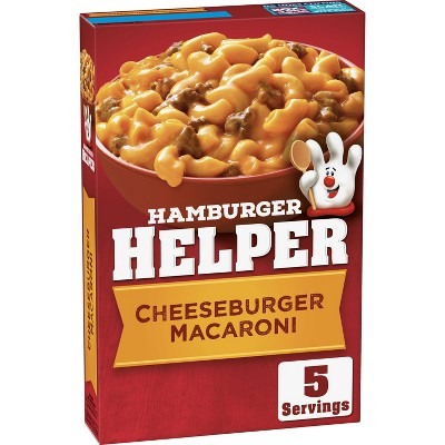 Hamburger Helper Cheeseburger Macaroni 6.6oz