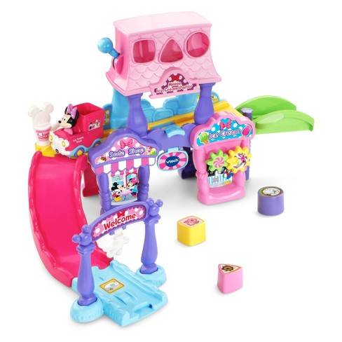 VTech Go! Go! Smart Wheels Minnie Mouse Ice Cream Parlor - image 1 of 8