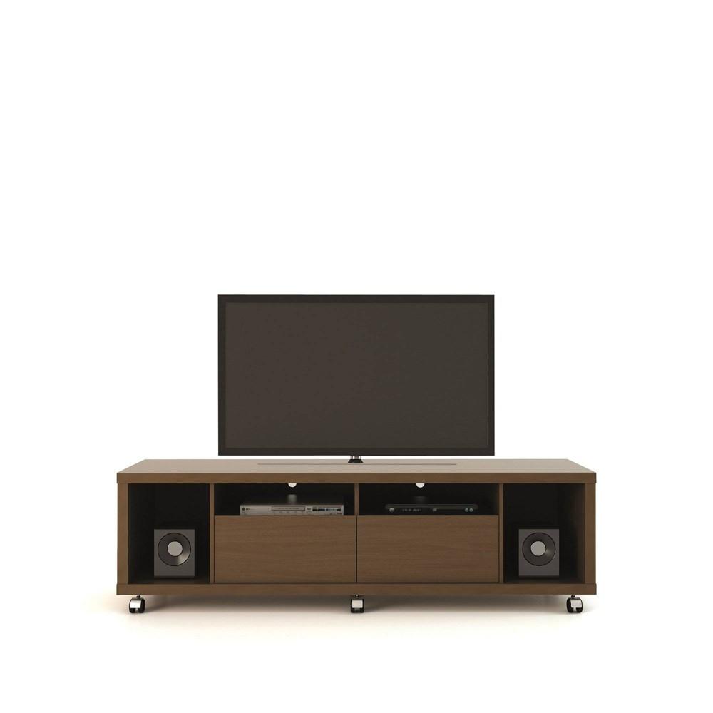 Cabrini TV Stand 1.8 Nut Brown - Manhattan Comfort