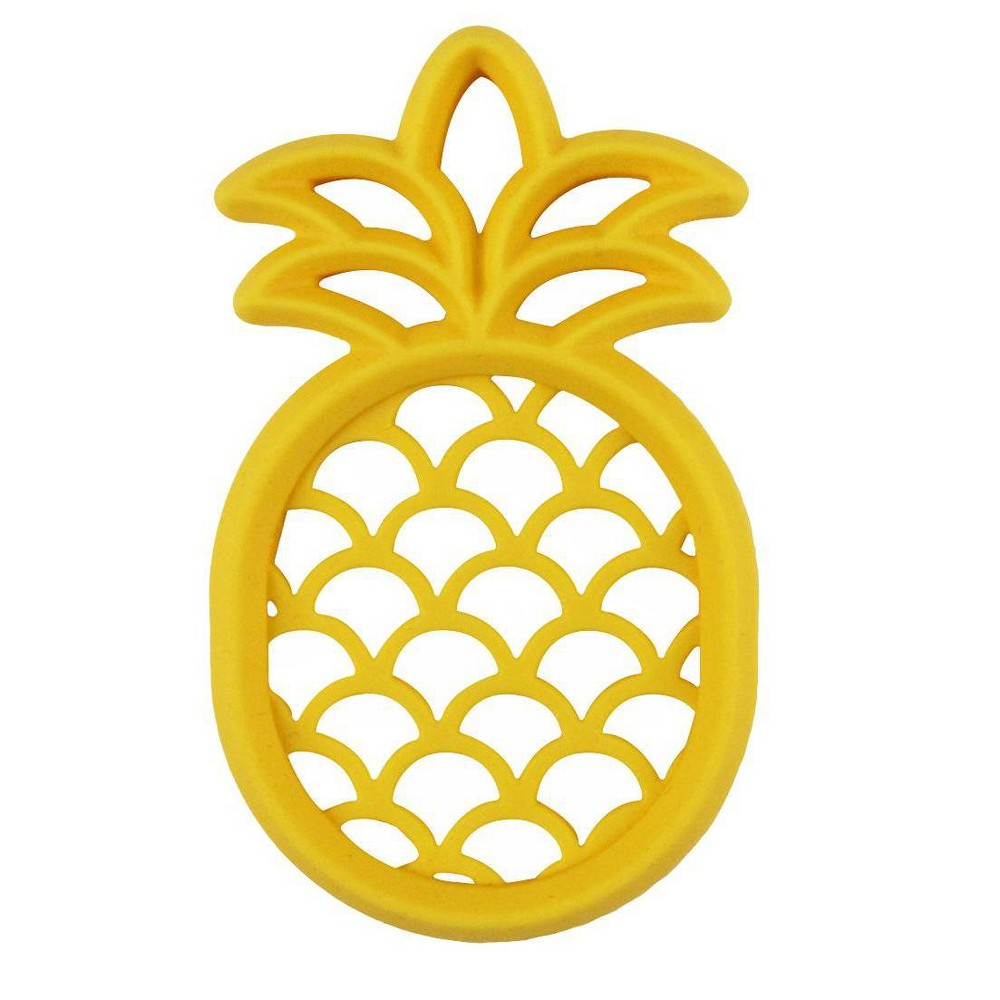 Image of Itzy Ritzy Silicone Teether - Pineapple