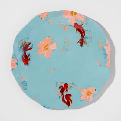 10.5  Melamine Koi Dinner Plate - Opalhouse™