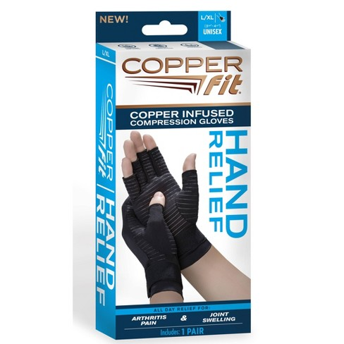 Copper Fit Hand Relief Gloves - L/XL - image 1 of 3