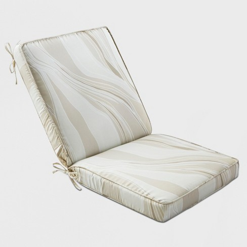 Strata Outdoor Chair Cushion Neutral - Project 62™ - image 1 of 3
