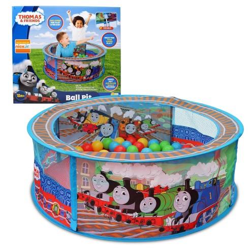 Thomas & Friends Thomas The Train - Ball Pit Tent with 20 Bonus Play Balls - image 1 of 4