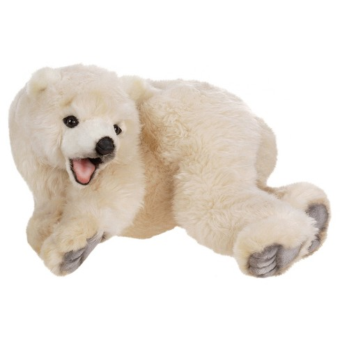 Hansa Baby Polar Bear Plush Toy - image 1 of 1