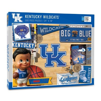 NCAA Kentucky Wildcats Throwback Puzzle 500pc
