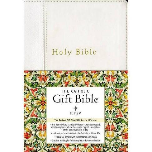 Catholic Gift Bible-NRSV - (Leather_bound) - image 1 of 1