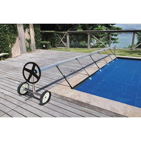 Kokido Stainless Steel In Ground Swimming Pool Cover Reel Set (Up To 18.7\')
