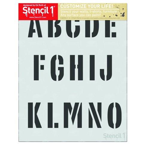 Stencil1® Industrial Font 2