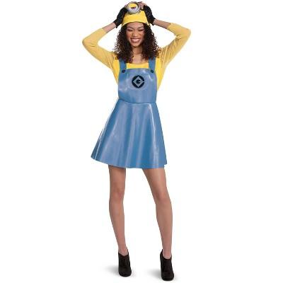 Despicable Me Minion Female Deluxe Adult Costume (Stuart)