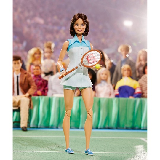 Barbie Signature Billie Jean King Inspiring Women Collector Doll image number null