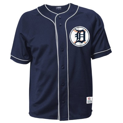MLB Detroit Tigers Men's Button-Down Jersey
