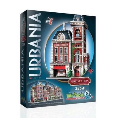 Wrebbit Urbania Fire Station 3D Puzzle 285pc