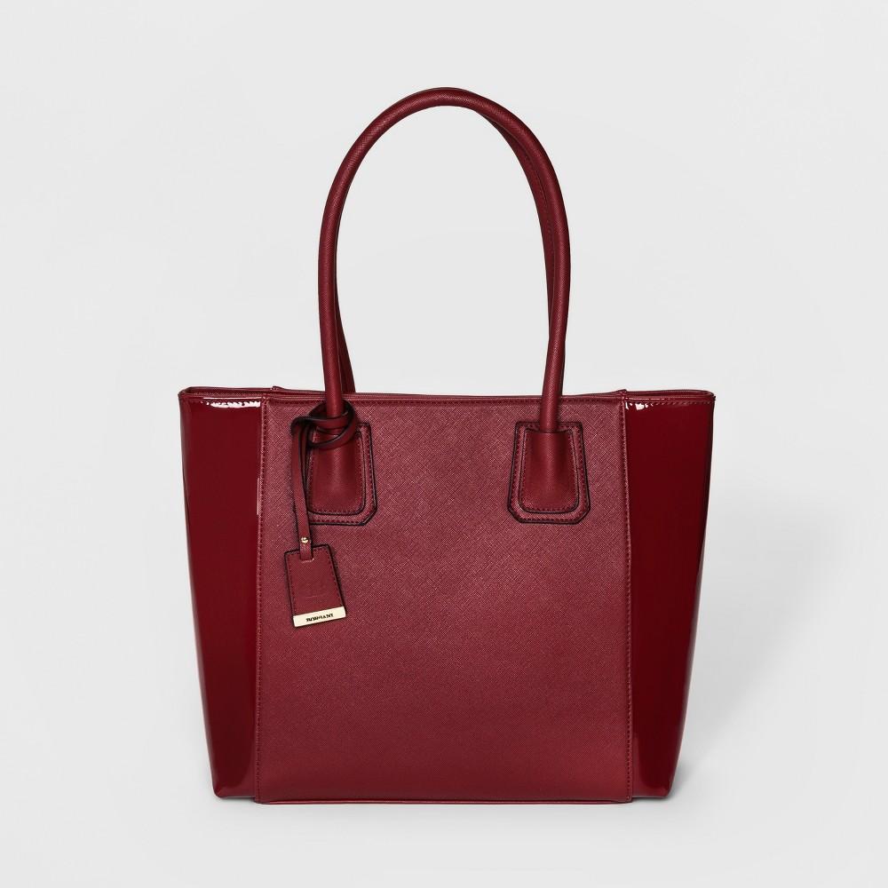 Image of BORSANI Monique Tote Bag - Red, Women's, Size: Small