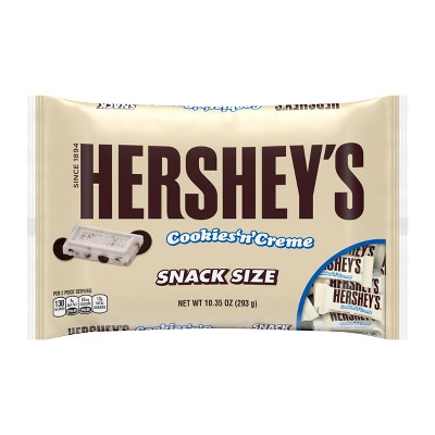 hersheys-halloween-snack-size-cookies-n-creme-bars-bag---1035oz by hersheys