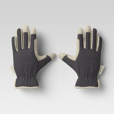 M/L Duck Canvas Work Gloves Dark Gray - Smith & Hawken™