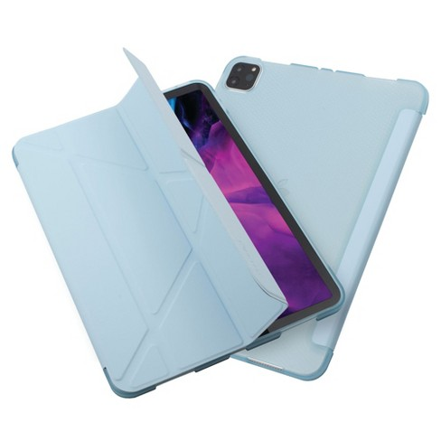 "Insten - Tablet Case for iPad Pro 11"" 2020, Multifold Stand, Magnetic Cover Auto Sleep/Wake, Pencil Charging, Light Blue - image 1 of 3"