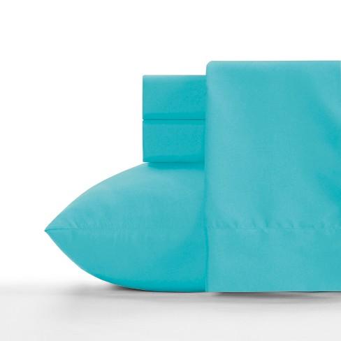 Microfiber Sheet Set Teal Blue - Crayola - image 1 of 2