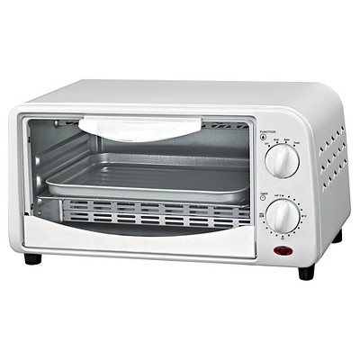 Courant 2-Slice Toaster Oven - White