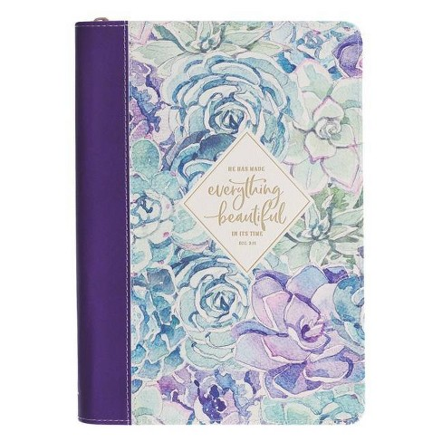 Journal Classic Floral Everything Beautiful in Its Time - (Paperback) - image 1 of 1