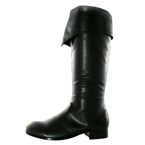 Halloween Adult Bernard Costume Boots Black Medium, Men's